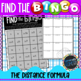 The Distance Formula Find the Bingo; Algebra 1, Geometry