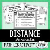 Distance Formula Math Lib