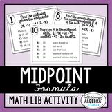 Midpoint Formula Math Lib