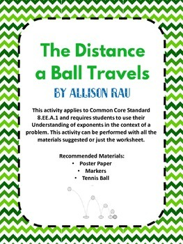 The Distance a Ball Travels