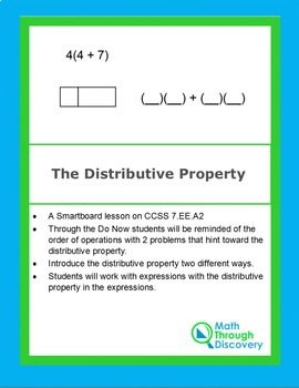 The Distributive Property
