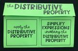 The Distributive Property (Foldable)