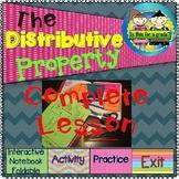 The Distributive Property: Foldable, INB Activity, Practic