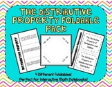 The Distributive Property Foldable