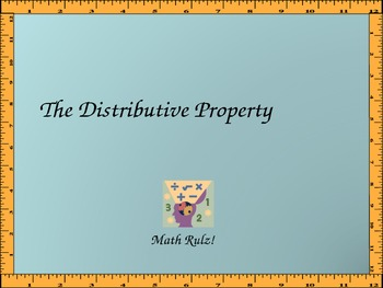 The Distributive Property Including Variables and Negatives