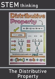 The Distributive Property of Multiplication Doodle Color M