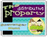 The Distributive Property Scavenger Hunt