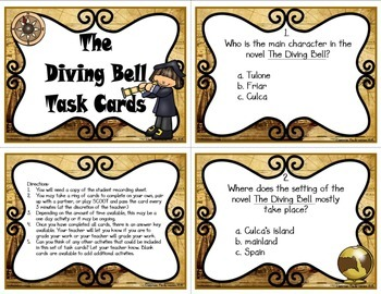 The Diving Bell Task Cards