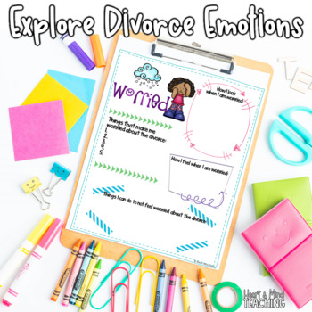 The Divorce Storm; Feelings and emotions brought on by changing families; SEL