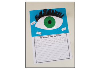 The Doctor With an Eye For Eyes: Craft and Writing Activity