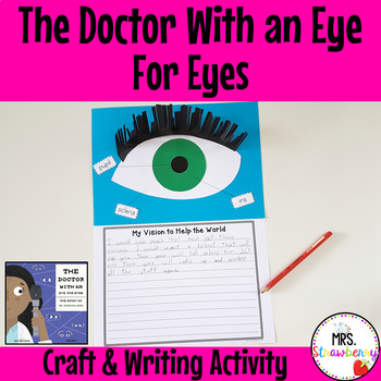 The Doctor With an Eye For Eyes Craft and Writing Activity