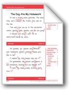 The Dog Ate My Homework (Gr. 3/Week 28)