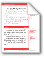The Dog Ate My Homework (Gr. 3/Week 28)