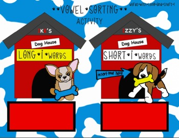 The Dog House of Vowels Reading Activities