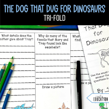 The Dog That Dug for Dinosaurs Journeys 2nd Grade Supplement Activities 27