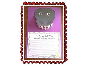 The Dog That Dug for Dinosaurs Journeys Unit 6 Lesson 27 2nd gr. Supplement Mat.