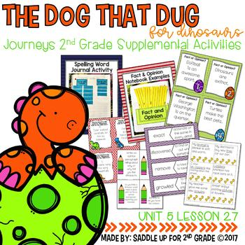 The Dog That Dug for Dinosaurs Supplemental Activities