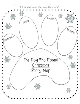 The Dog Who Found Christmas activity pack