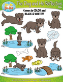 The Dog and His Reflection Famous Fables Clipart {Zip-A-Dee-Doo-Dah Designs}