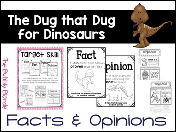 The Dog that Dug for Dinosaurs Unit 6, Lesson 27 Journeys Print & Go