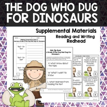The Dog who Dug for Dinosaurs -  Journeys Second Grade Week 27