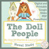 The Doll People Novel Study, Distance Learning, Independent Work, Google