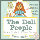 The Doll People Novel Study, Digital Learning, Independent Work, Google