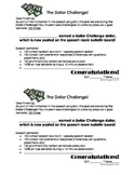 The Dollar Challenge Packet
