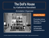 """""""The Doll's House"""" by Katherine Mansfield: Annotation Organizer"""