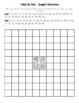 The Dominican Republic Flag Hundred Chart Mystery Picture with Number Cards