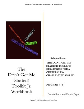 The Don't Get Me Started! Toolkit Jr. Workbook and Teacher Answer Key