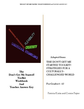The Don't Get Me Started! Toolkit Workbook and Teacher Answer Key