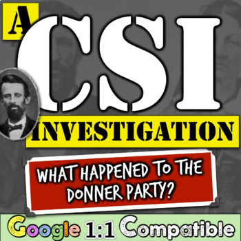 Donner Party: A CSI Investigation! What Happened To The Do