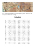 The Donner Party Word Search