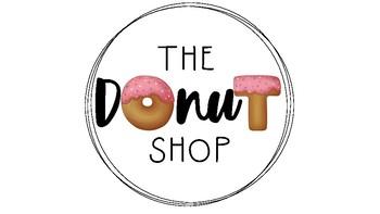 The Donut Shop Logo