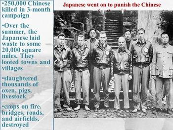 The Doolittle Raid -April 18, 1942.