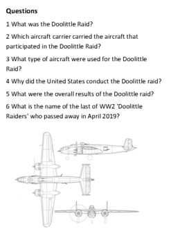 The Doolittle Raid Handout