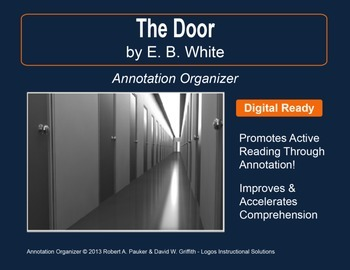 """""""THE DOOR"""" by E.B. WHITE: Annotation Organizer"""
