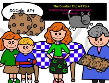 The Doorbell Clip Art Pack