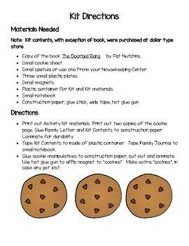 Cookie Activity Kit