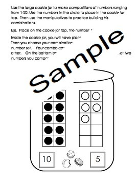 Doorbell Rang Count Compose Numbers 15-20 Eng and Spanish Cscope Common Core