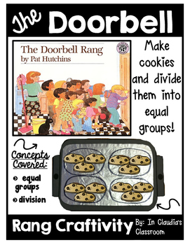 The Doorbell Rang Craftivity-Diving Into Equal Groups