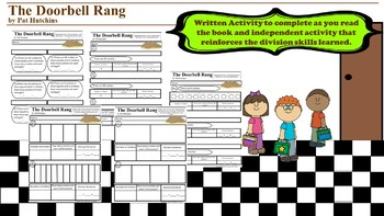 The Doorbell Rang- Literacy Based Division Activities