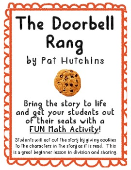 """The Doorbell Rang"" Math Activity Using Literature!"