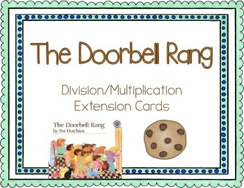 the doorbell rang multiplication and division task cards tpt. Black Bedroom Furniture Sets. Home Design Ideas