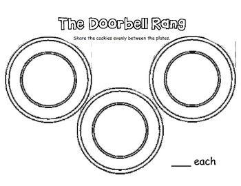 The Doorbell Rang - sharing/division activity