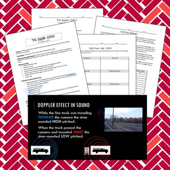 The Doppler Effect and Redshift--Complete Lesson Plan