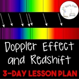 The Doppler Effect and Redshift--3 Day Lesson Plan