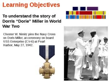 """The Doris """"Dorie"""" Miller Story  - Pearl Harbor"""