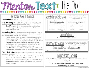 The Dot - A Mentor Text for Reading and Writing